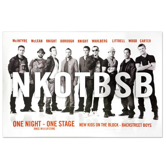 New Kids On The Block NKOTBSB Poster