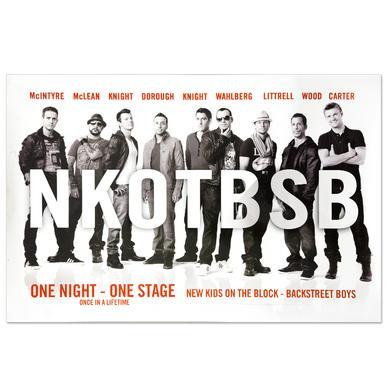 New Kids On The Block NKOTBSB Poster