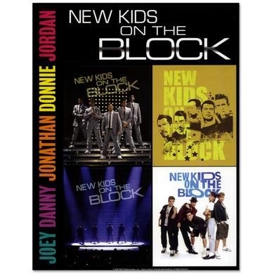 New Kids on the Block Coming Home Sticker Sheet