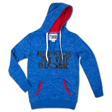 New Kids On The Block Girls Thumb Hole Hoodie
