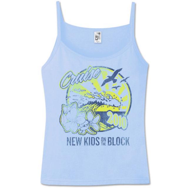New Kids On The Block 2010 Summer Jam Spaghetti Strap Tank
