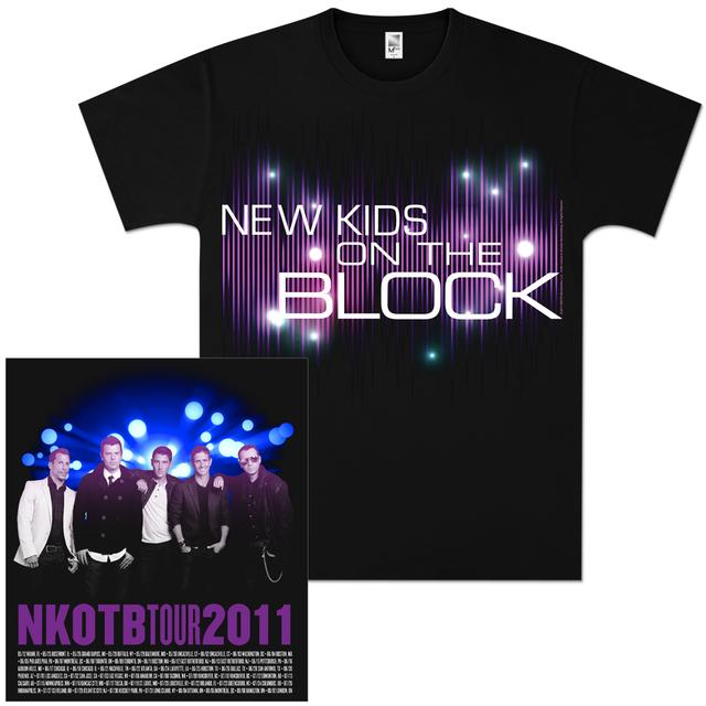 New Kids on the Block Equalizer T-Shirt