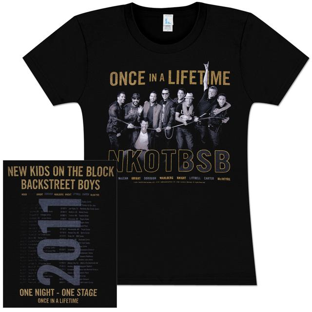 New Kids On The Block NKOTBSB Animated Babydoll