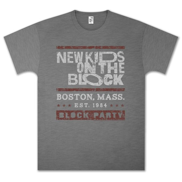 New Kids On The Block NKOTB Block Party T-Shirt
