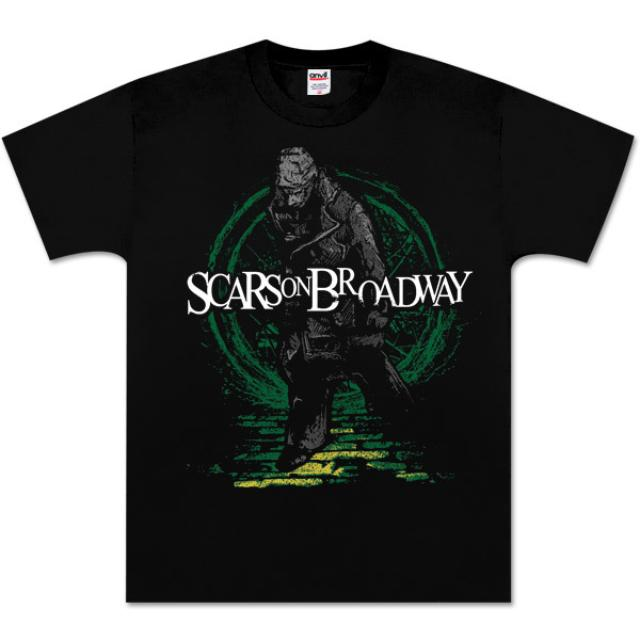Scars On Broadway Green Whore Street T-Shirt