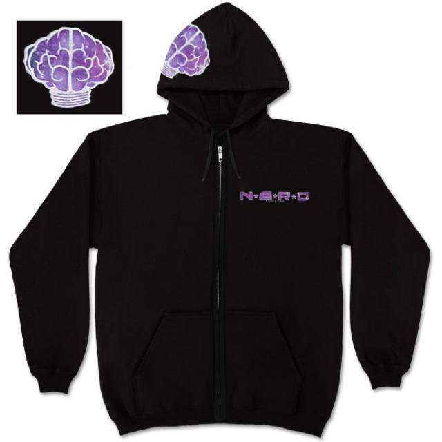 N*E*R*D Galaxy Zip Hoodie