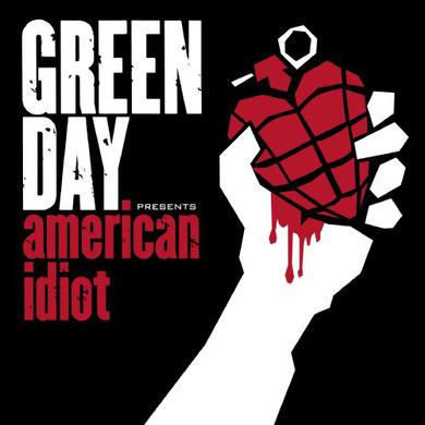 Green Day American Idiot 2LP Colored Vinyl