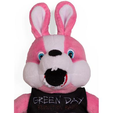 Green Day Revolution Radio Stuffed Bunny