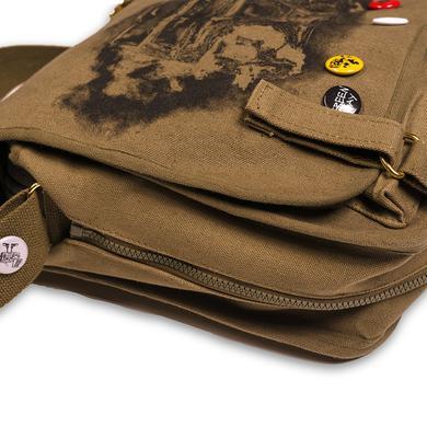 Green Day Burning Radio Messenger Bag