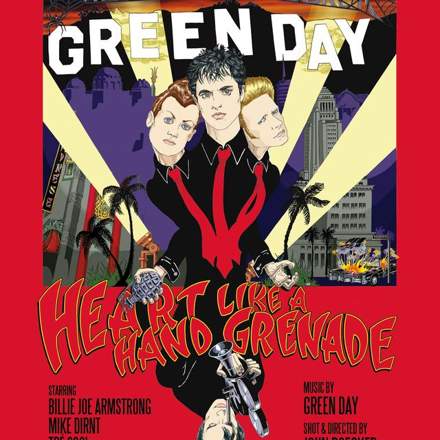 Green Day Heart Like A Hand Grenade DVD