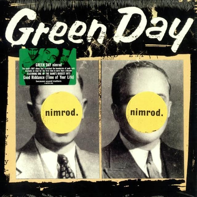 Green Day Nimrod Vinyl