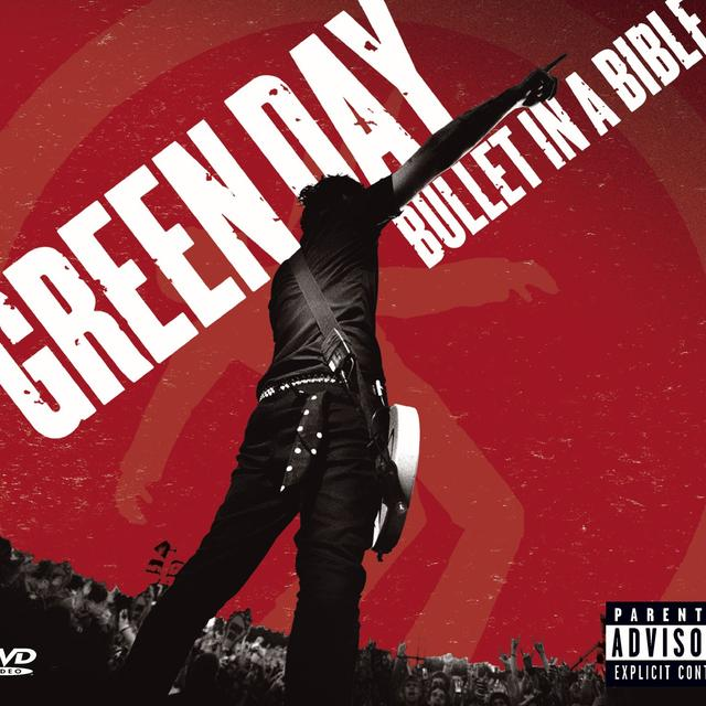 Green Day Bullet In A Bible (CD/DVD, Jewel Case)