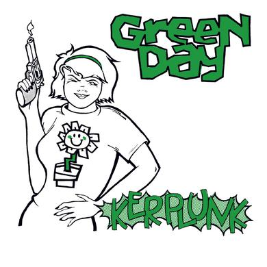 "Green Day Kerplunk LP+7"" (Vinyl)"