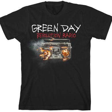 Green Day Revolution Radio Cover T-Shirt