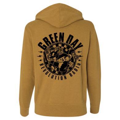 Green Day Checker Cat Hoodie