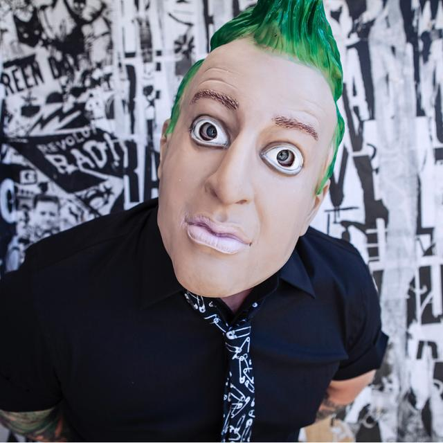 Green Day Tré Cool Mask