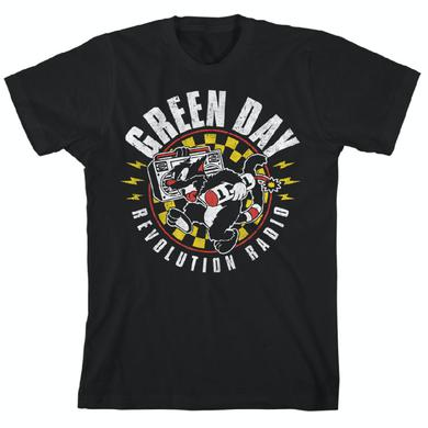 Green Day Checker Cat T-Shirt