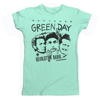 Green Day Women's Photo Collage T-Shirt