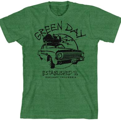 Green Day Retro '86 Car T-Shirt