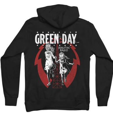 Green Day Gas Mask Sisters Hoodie