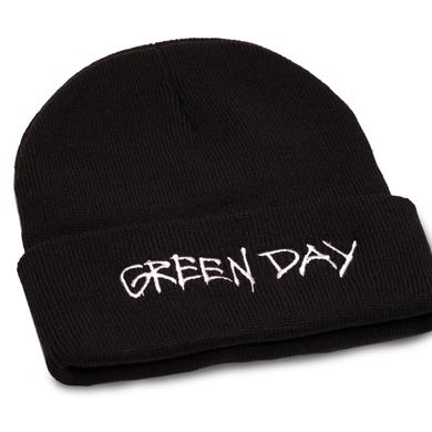 Green Day Label Flip Beanie