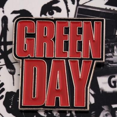Green Day Mask Enamel Pin Set