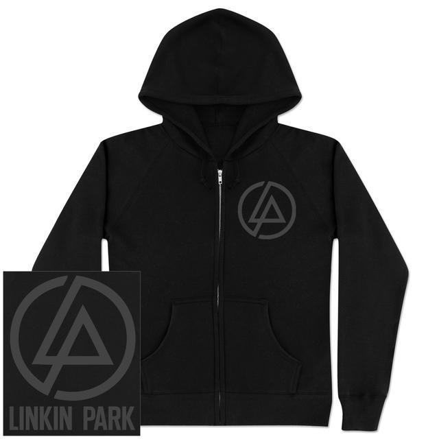 Linkin Park Glitch Logo Zip Hoodie