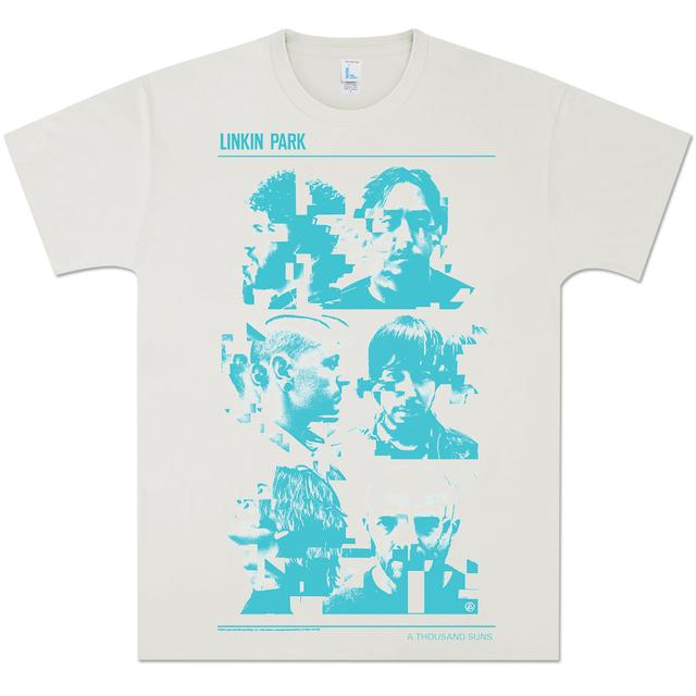 Linkin Park Glitch Portrait T-Shirt
