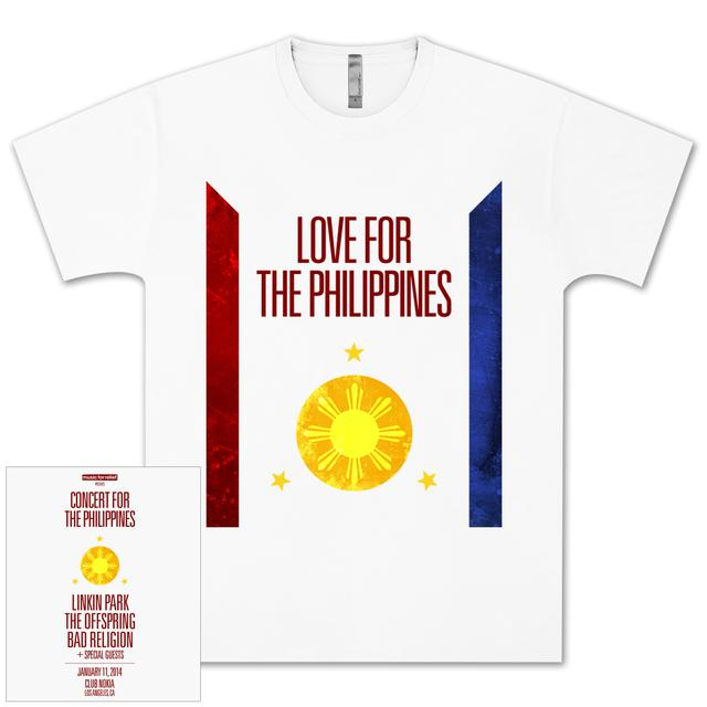 Linkin Park Concert for Philippines T-Shirt