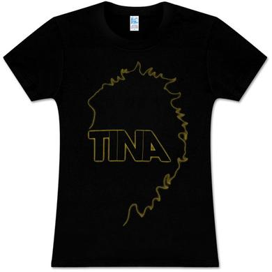 Tina Turner Neon Outline Babydoll