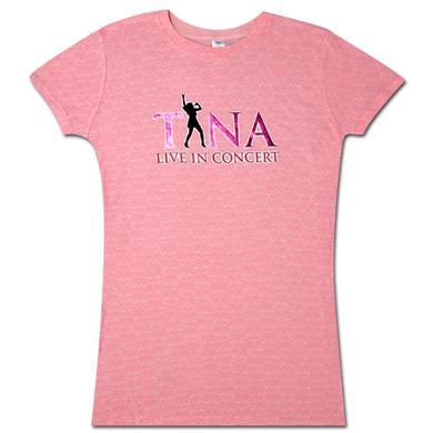 Tina Turner Pink Silhouette Babydoll