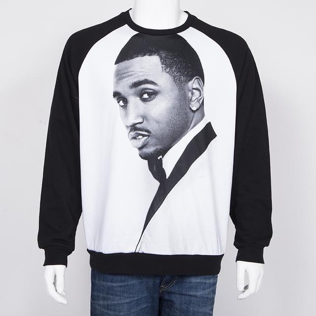Trey Songz Tuxedo Custom Crewneck Sweatshirt