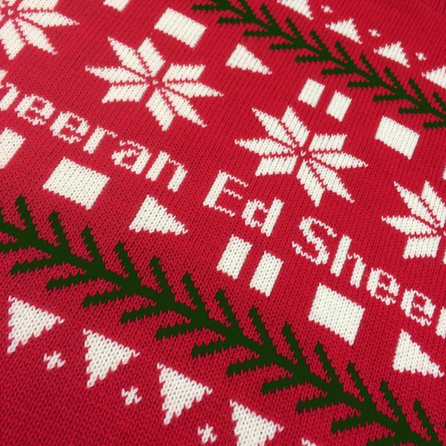 Ed Sheeran The Holiday Sweater