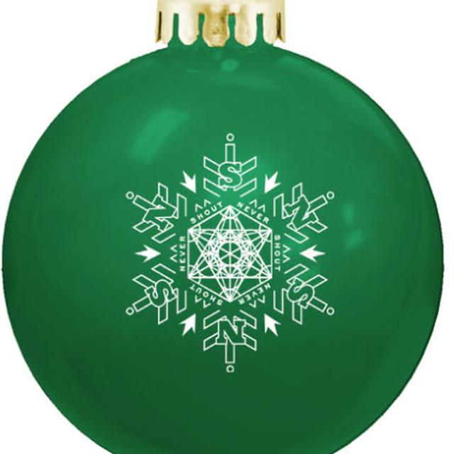 Never Shout Never NSN Green Ornament