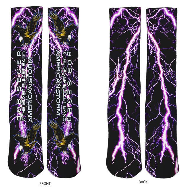 Bob Seger American Storm Socks