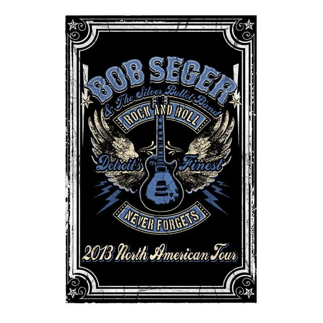 Bob Seger 2013 Tour Poster