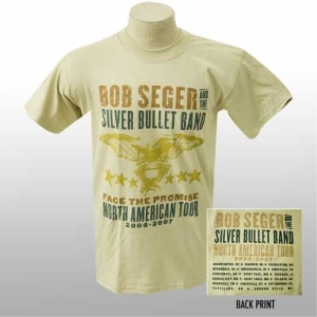 Bob Seger Face The Promise Event Tee