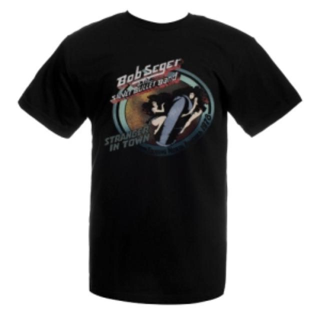 Bob Seger Vintage Girls On The Bullet Tee