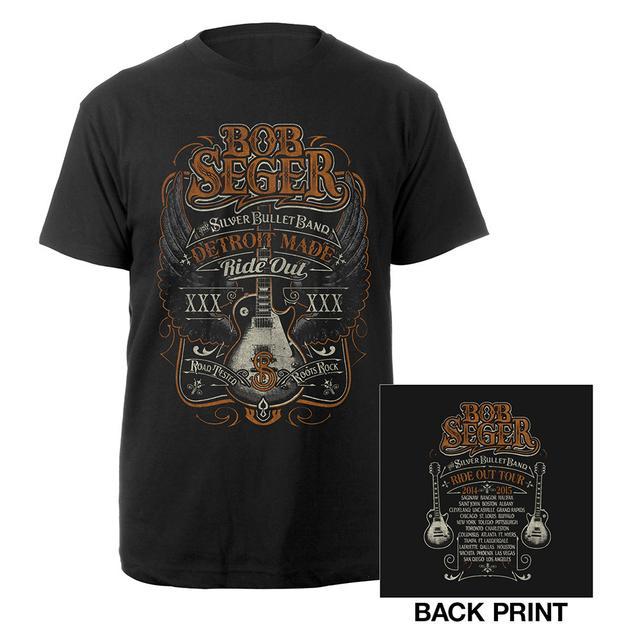 Bob Seger Detroit Made Ride Out Tour Shirt