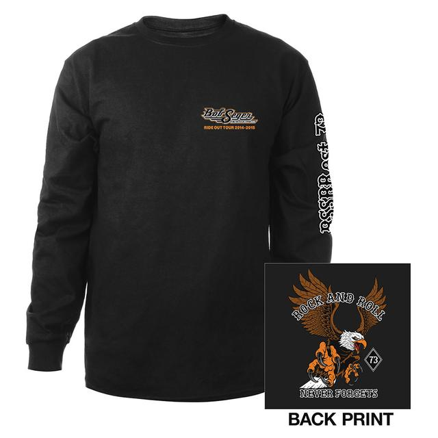 Bob Seger Rock and Roll Never Forgets Long Sleeve Shirt
