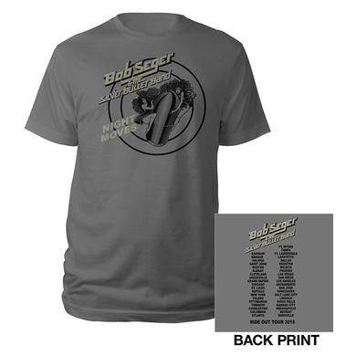 Bob Seger Girls on The Bullet Tour 2015 Tee