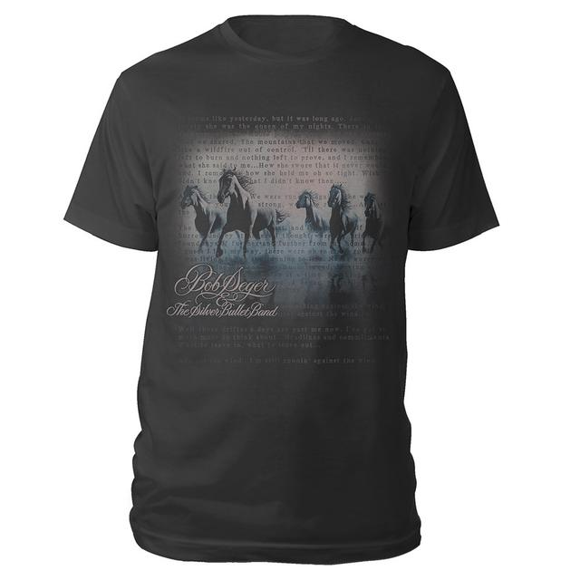 Bob Seger Against The Wind Classic Lyric Tee