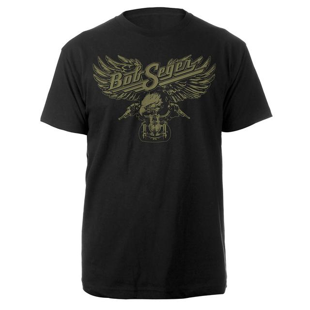 Bob Seger Motorcycle Eagle Tee