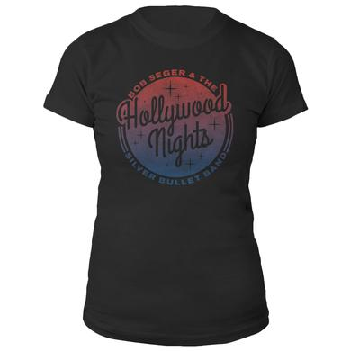 Bob Seger Hollywood Nights Ladies Tee