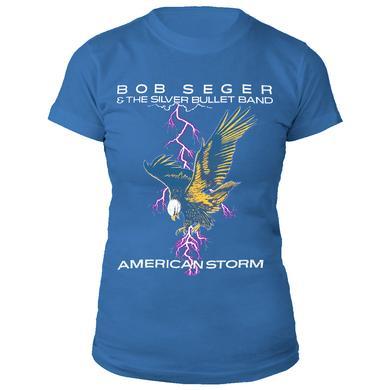 Bob Seger Ladies American Storm Tee
