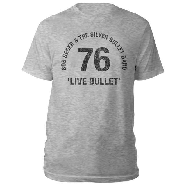 Bob Seger Live Bullet 40th Anniversary Tee