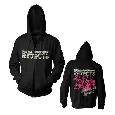 All american rejects Cluster Punk Zip Hoodie