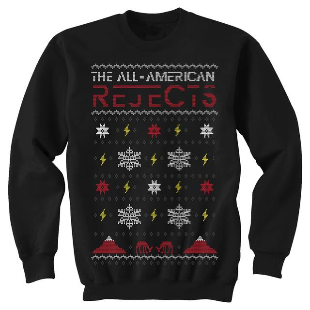 All american rejects Lightning Storm Holiday Sweatshirt