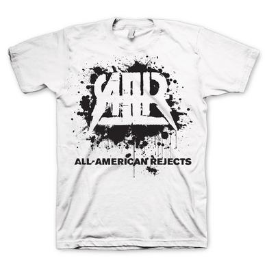 All american rejects Splatter Logo T-Shirt