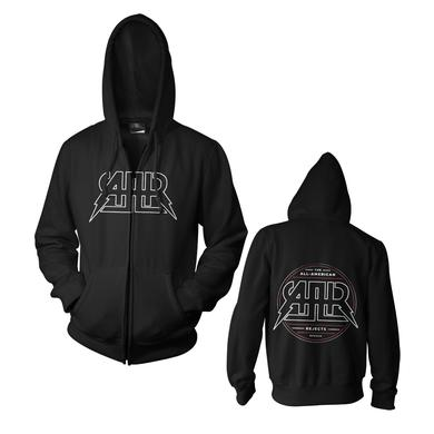 All american rejects Lined AAR Logo Zip Hoodie